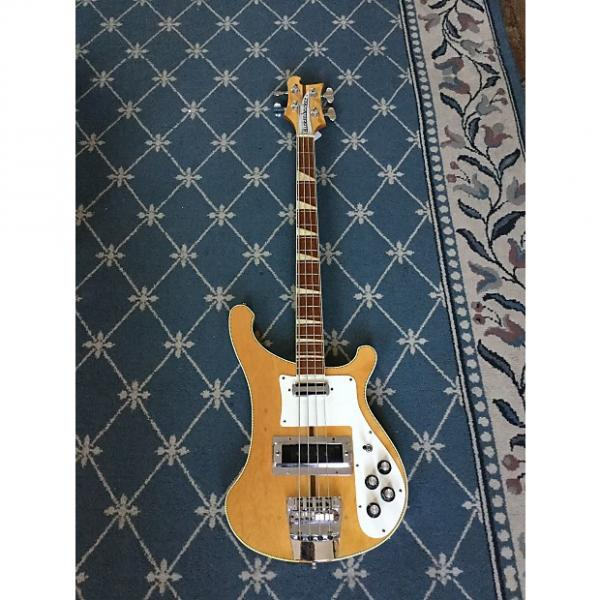 Custom Rickenbacker 4001 Bass Guitar 1972 Mapleglo #1 image