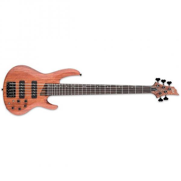 Custom ESP/LTD B-1005 SE BUBINGA Natural SATIN(LB1005SEBNS)Bass Guitar - LB1005SEBNS #1 image