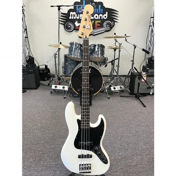 Custom Fender Deluxe Active Jazz Bass 2016 Olympic White #1 image