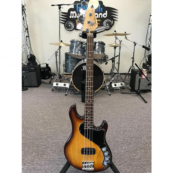 Custom Fender American Deluxe Dimension Bass IV H 2013 Violin Burst #1 image