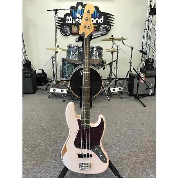 Custom Fender Flea Signature Jazz Bass 2016 Shell Pink Relic #1 image
