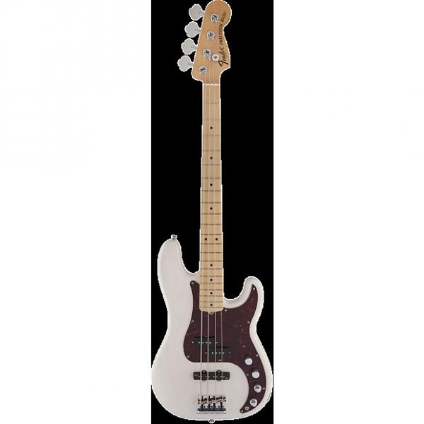 Custom Fender American Deluxe Precision Bass Ash Maple White Blonde #1 image