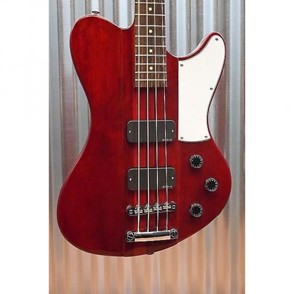 Custom Schecter Guitar Research Ultra Bass 4 String See Through Cherry Thunderbird 901 #1 image