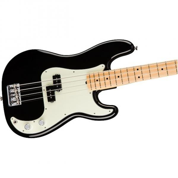 Custom Fender American Professional Precision Bass, Black, Maple Board - 0193612706 #1 image