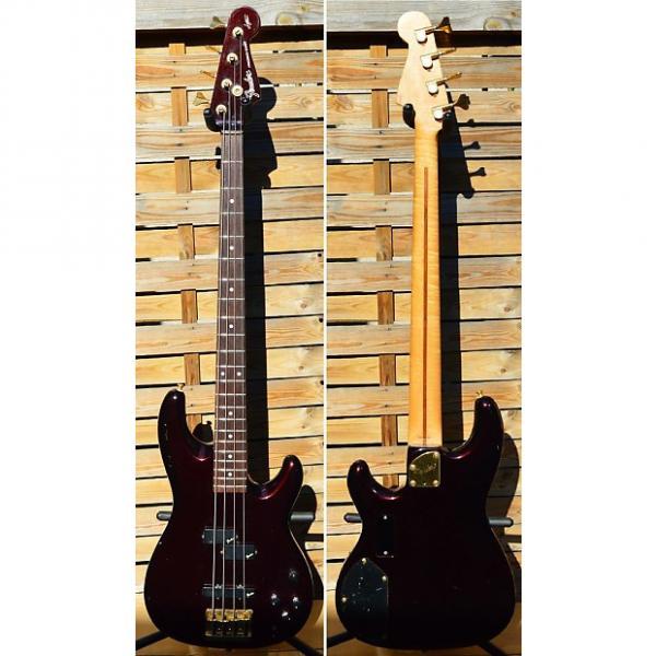 Custom Fender precision pjr-70 1995 Dark Wine metallic active #1 image