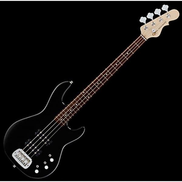 Custom G&L Tribute L-2000 Bass Guitar in Gloss Black #1 image