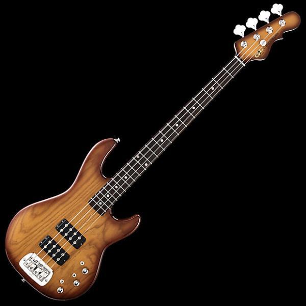 Custom G&L Tribute L-2000 Bass Guitar in Tobacco Sunburst Finish #1 image