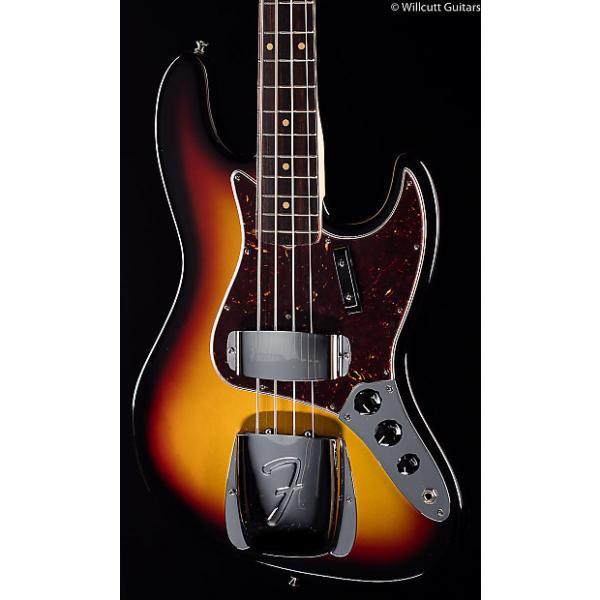 Custom Fender American Vintage '64 Jazz Bass 3-Color Sunburst Rosewood (995) #1 image