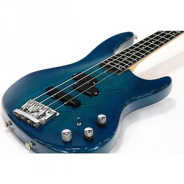 Custom P-Project Pumps 4 String Bass Trans Blue #1 image