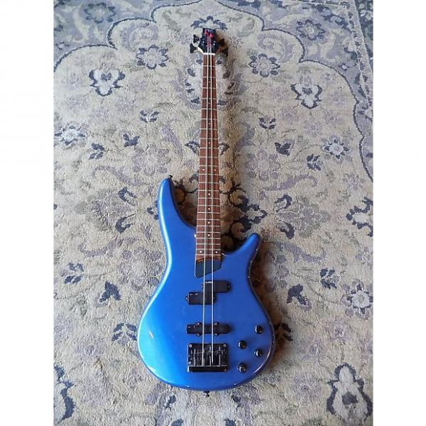 Custom Ibanez SR500 Soundgear Electric Bass Active 1990s Metallic Blue #1 image