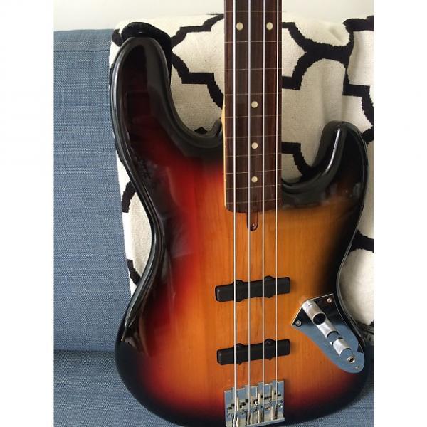 Custom Bacchus Global WL4 fret less Special 6 month 3 Tone Sunburst #1 image