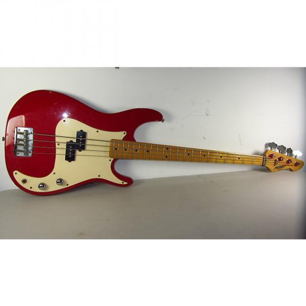 Custom PEAVEY FURY (RED) BASS GUITAR #1 image