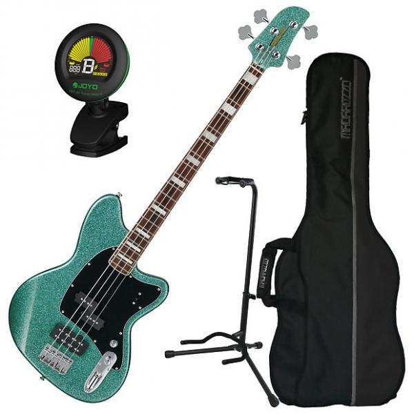 Custom Ibanez TMB310 4-String Electric Bass Guitar Bundle #1 image