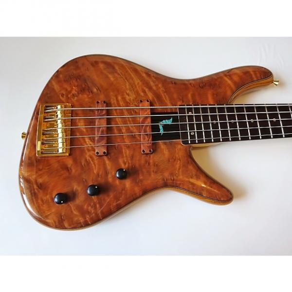 Custom sugi Night Breed NB5 Japanese Redwood Quilted Burl/Ash. March Madness sale! #1 image
