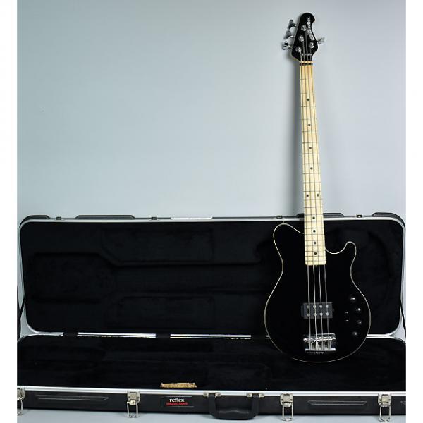 Custom Ernie Ball Music Man Reflex Electric Bass 2010 Black #1 image