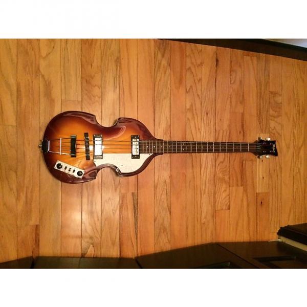 Custom Hofner Violin Bass Sunburst #1 image