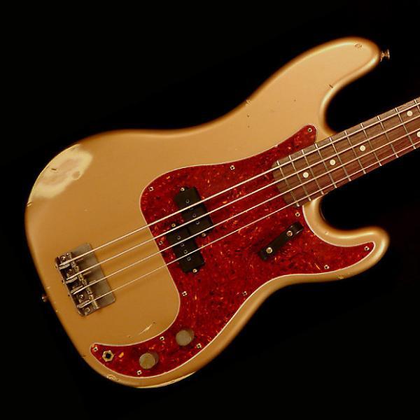 Custom Nash PB-63 Bass Guitar - L.P. Gold - Nash PB-63 Bass Guitar - L.P. Gold #1 image