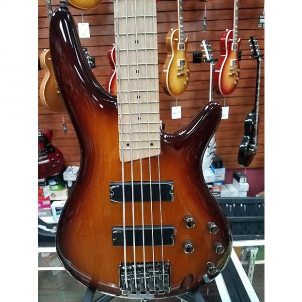 Custom SR375MBBT 5-String Electric Bass, Brown Burst #1 image