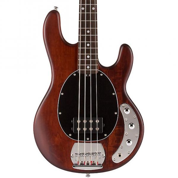 Custom Sterling By Music Man SUB Ray4-WS Bass Guitar, Walnut Stain, Rosewood #1 image