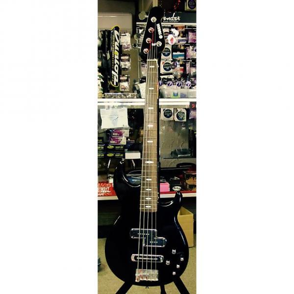 Custom Yamaha  BB615 Black 5 String Active Bass #1 image
