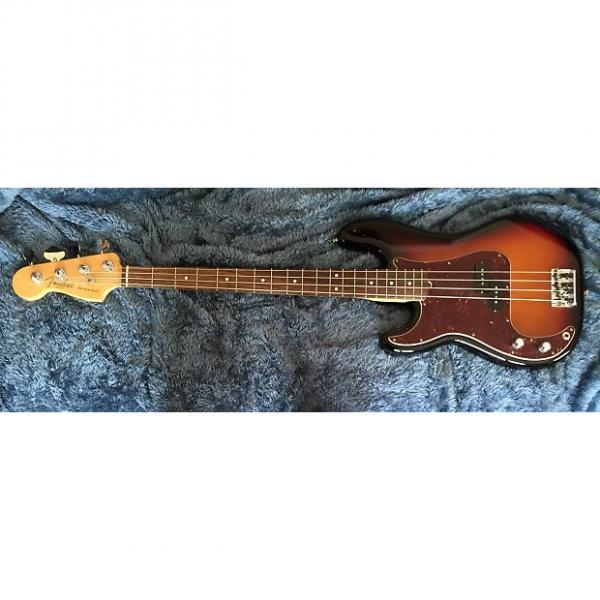 Custom Fender Am Std Precision Bass 2015 sunburst #1 image