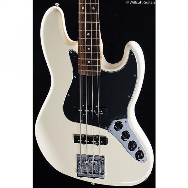 Custom Fender Deluxe Active Jazz Bass Olympic White (623) #1 image