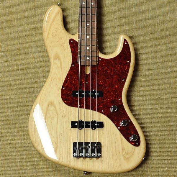 Custom Schecter California USA Custom Shop Classic Jazz Bass - 2015 - Natural #1 image