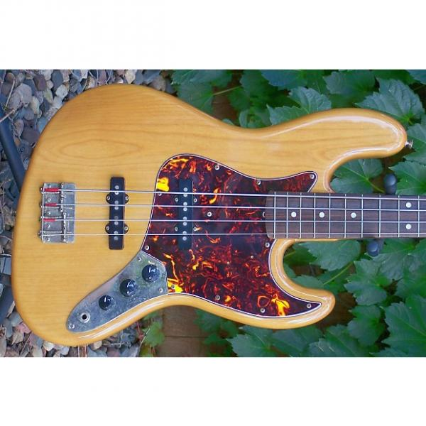 Custom 1980 Tokai Jazz Sound Bass - Very RARE Natural Finish - Birdseye Maple Neck - Custom Shop Quality #1 image