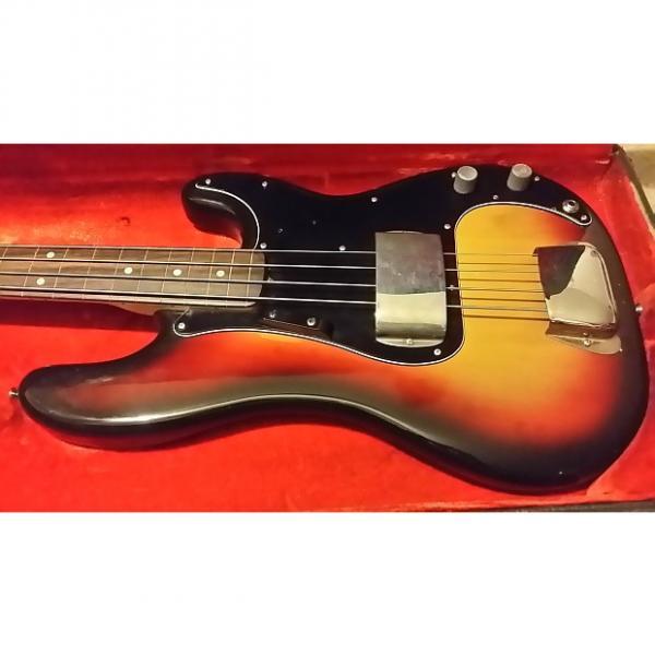Custom 1974 Fender Precision Bass fretless #1 image