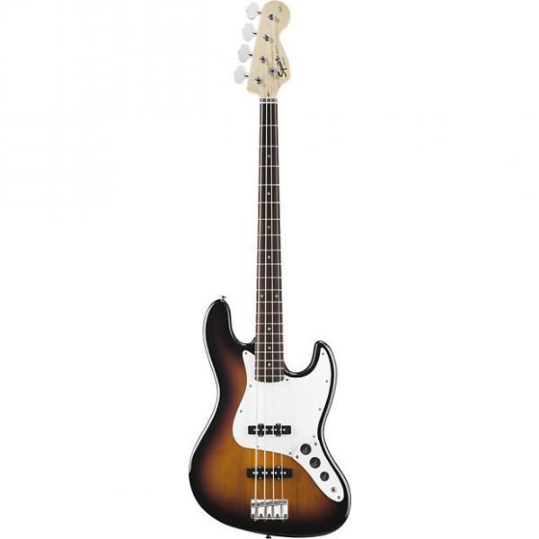 Custom Squier Affinity Jazz Bass Brown Sunburst #1 image