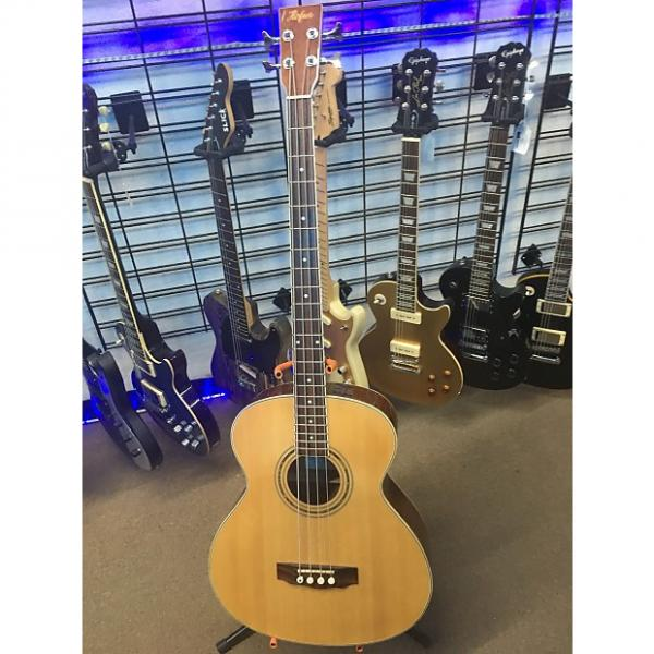 Custom Hofner HAB01E Acoustic Electric Bass Guitar #1 image