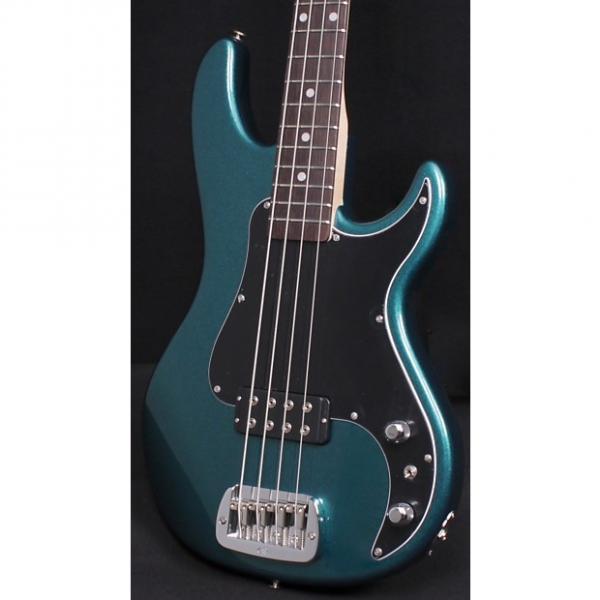 Custom G&L Kiloton Bass Emerald Blue Metallic #1 image
