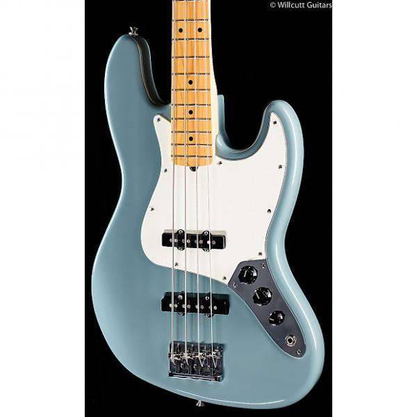 Custom Fender American Pro Professional Jazz Bass Sonic Grey Maple (018) #1 image