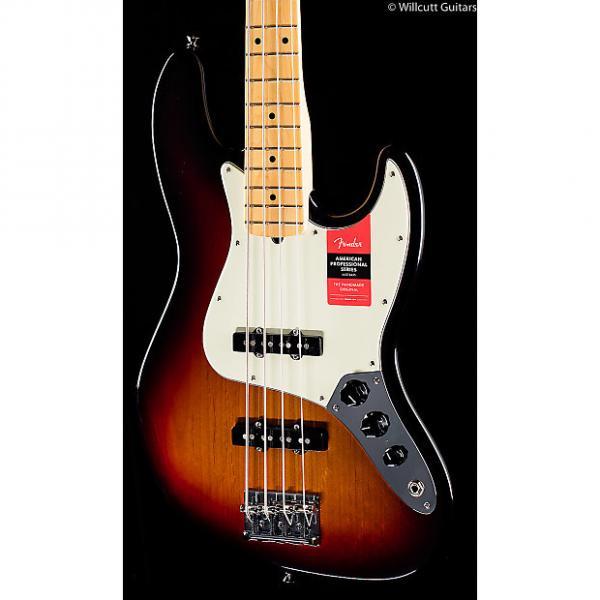 Custom Fender American Pro Professional Jazz Bass 3-Tone Sunburst Maple (618) #1 image
