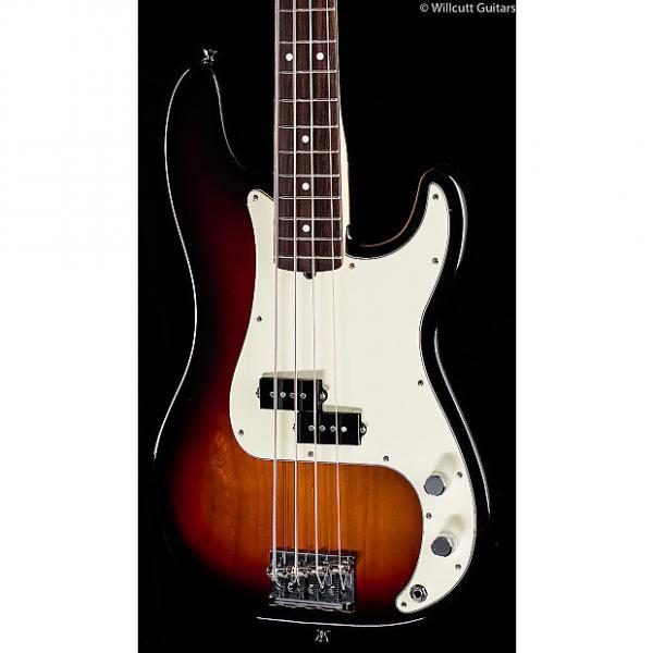 Custom Fender American Pro Professional Precision Bass 3-Tone Sunburst Rosewood (610) #1 image