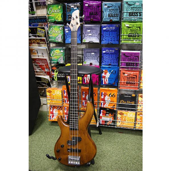 Custom Aria Pro II left hand bass guitar S/H #1 image