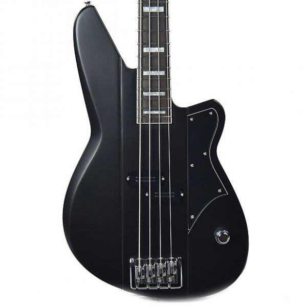 Custom Reverend Meshell Ndegeocello Fellowship Bass Satin Black #1 image