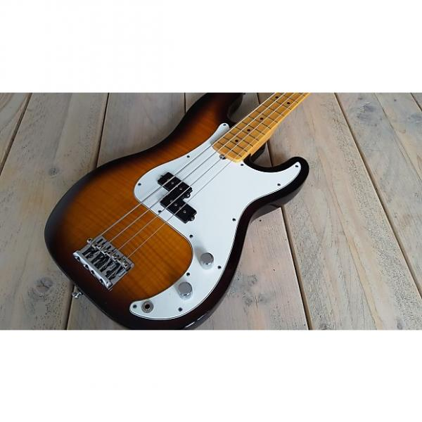 Custom Fender  Select Precision Bass 2012 Sunburst #1 image