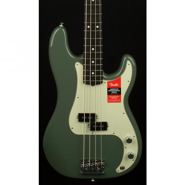 Custom Fender American Professional Precision Bass, Rosewood Fingerboard, Antique Olive #1 image