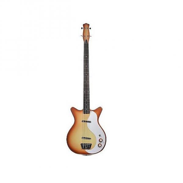Custom Danelectro 59 Long Scale Bass Copper Burst #1 image