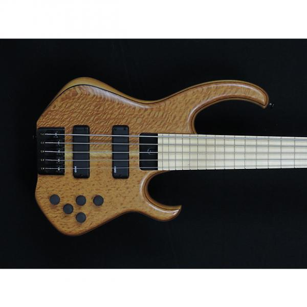 Custom Skjold Off-set 92 2016 natural Lacewood top #1 image