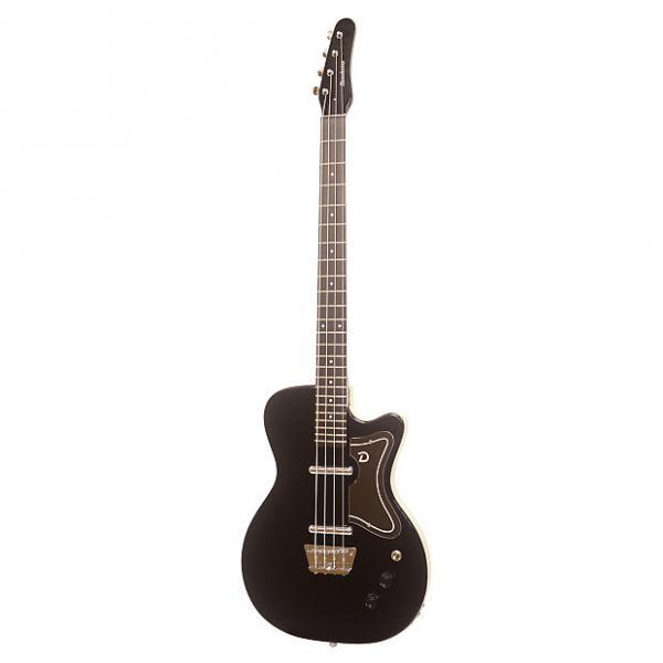 Custom Danelectro 56 Bass Guitar Black #1 image