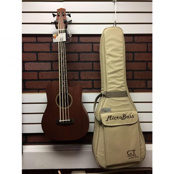 Custom Gold Tone Micro Bass Fretless M-Bass FL Mahogany #1 image