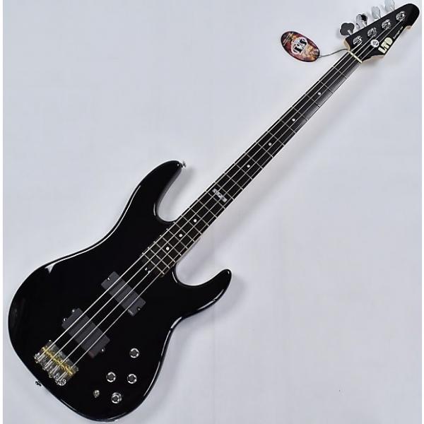 Custom ESP LTD Surveyor 414 4 String Electric Bass in Black #1 image