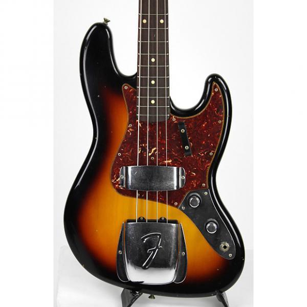 Custom Fender Custom Shop 1960 Journeyman Jazz Bass Three Tone Sunburst #1 image