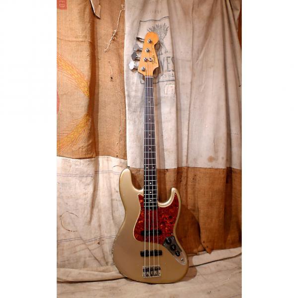 Custom Fender Jazz Bass 1964 Shoreline Gold #1 image