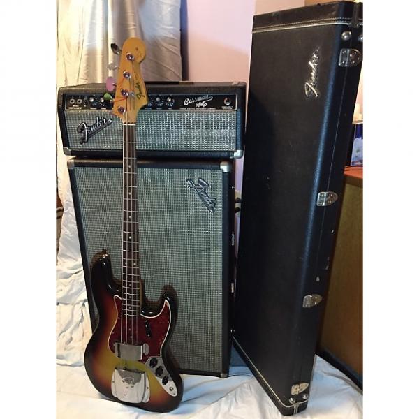 Custom 1965 Fender Jazz Bass, '66 Bassman Amp & Guitar Case #1 image