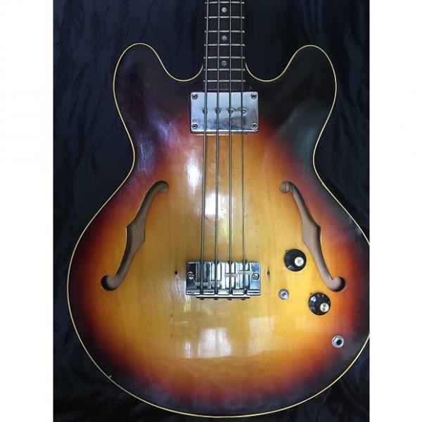 Custom Gibson EB 2 1968 Sunburst #1 image