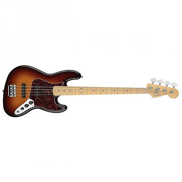 Custom Fender American Standard Jazz Bass - 3-Colour Sunburst / Maple #1 image
