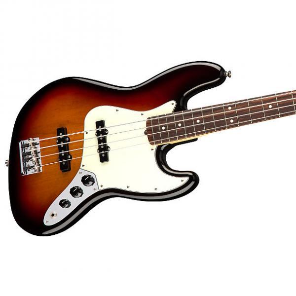 Custom Fender American Professional Jazz Bass, 3-Tone Sunburst, Rosewood Board - 0193900700 #1 image